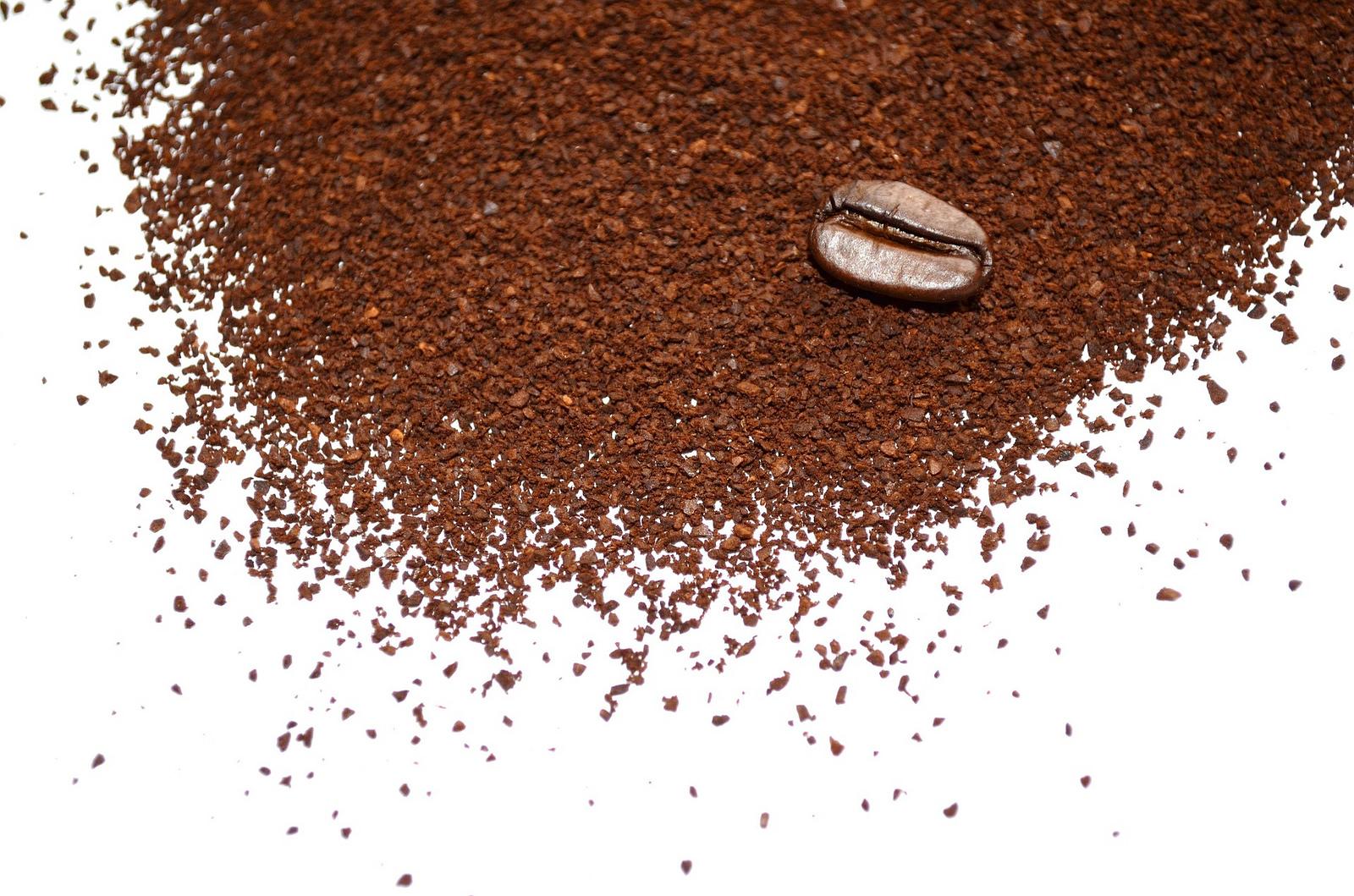 Usos del café molido