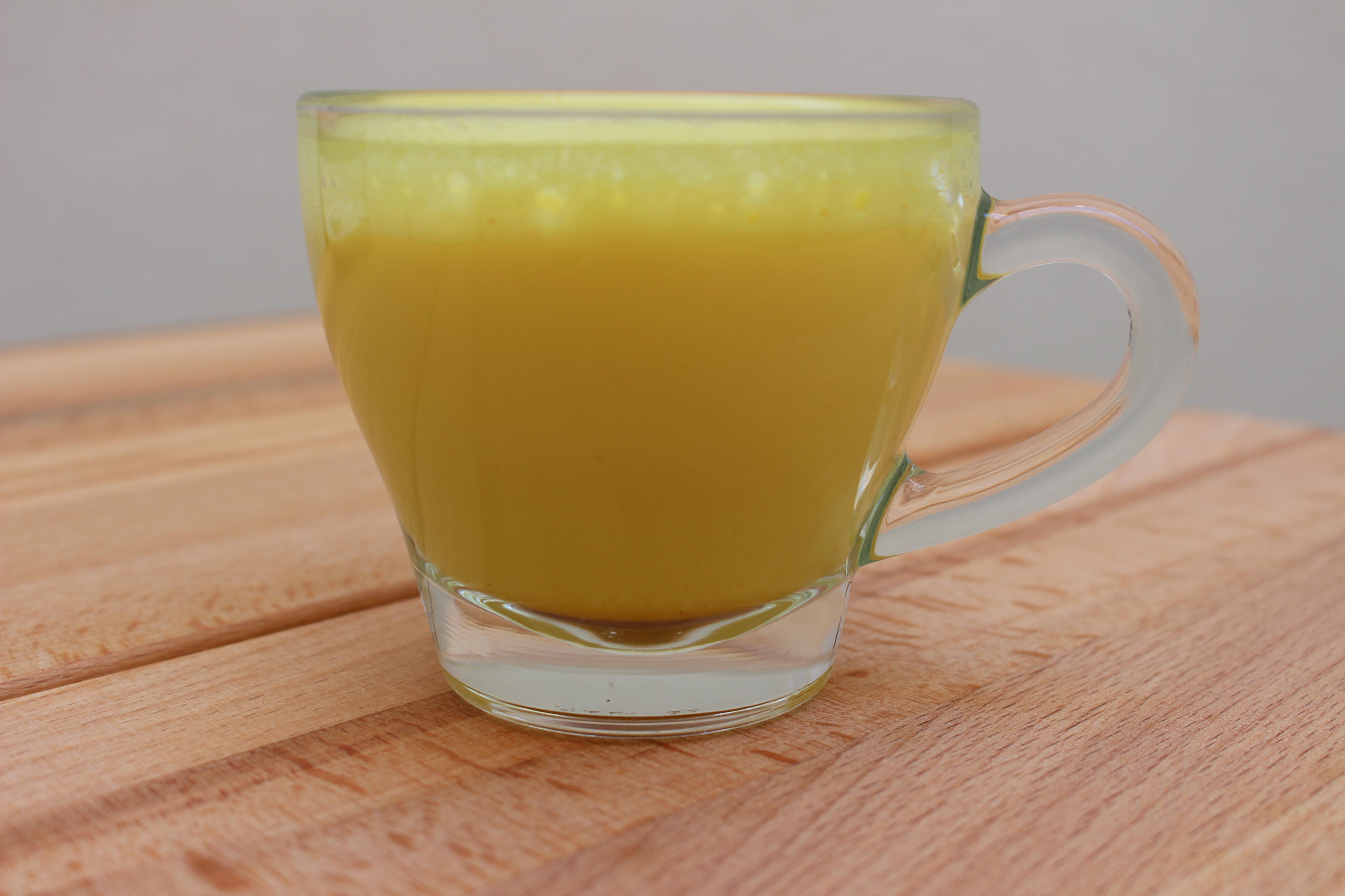 Prueba el mejor Cúrcuma Latte en Coffee Corner